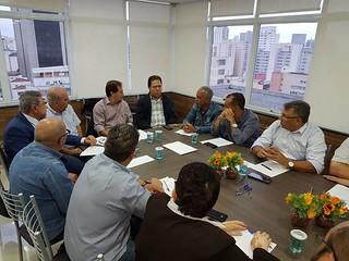 Paulinho da Força se reúne com sindicalista por mobilização