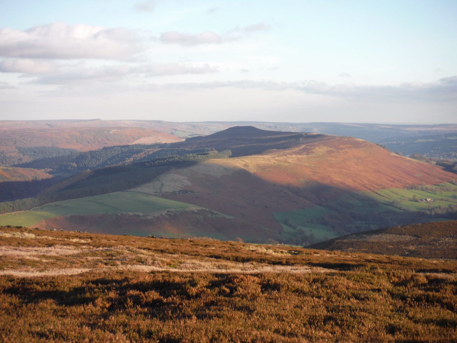 Wooler Knoll and Win Hill