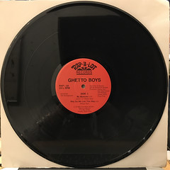 GHETTO BOYS:BE DOWN(RECORD SIDE-B)