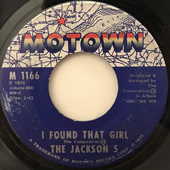 THE JACKSON 5:THE LOVE YOU SAVE(LABEL SIDE-B)