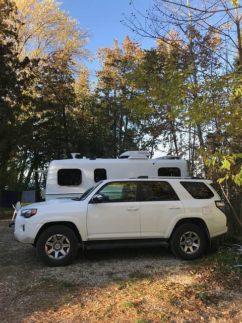 Craigleith camping 3