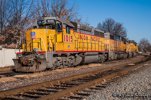 UP 1015 | EMD GP38-3 | UP Helena Subdivision