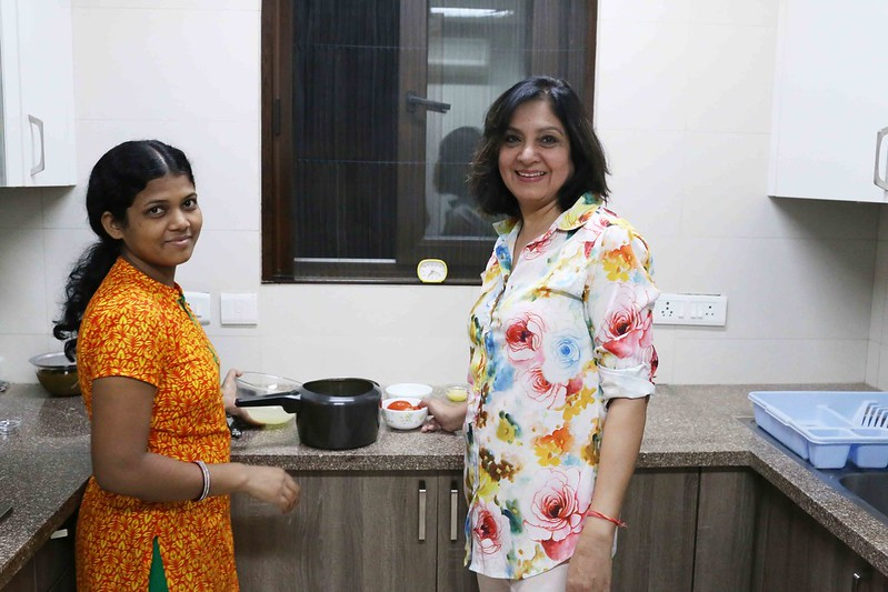 Julia Child in Delhi – Kamala Hemrajani Makes Her Sindh's's Dal Pakwaan, Defence Colony