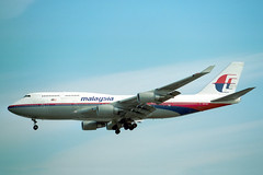 9M-MHL Boeing 747-4H6 Malaysia Airlines
