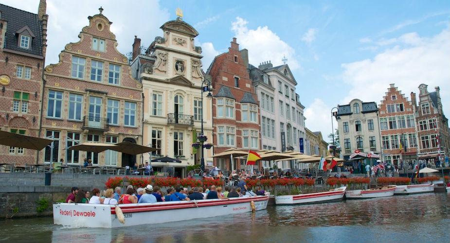 Gratis bezienswaardigheden in Gent: Korenlei | Mooistestedentrips.nl