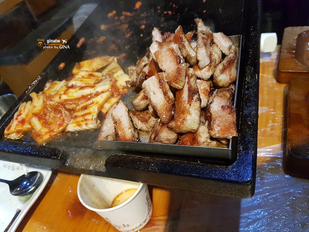 【弘大河南烤肉店】하남張돼지집|Hanampig五花肉|韓國烤肉專營烤豬肉店 弘大分店 (附交通方式、地圖) @GINA環球旅行生活