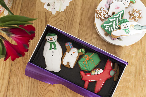 The Snowman Biscuits Biscuiteers