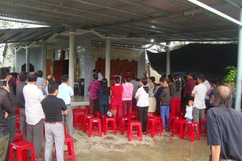 Thánh lễ bổn mạng đầu tiên tại Họ lẻ Đồng Cam, Giáo xứ Sơn Nguyên