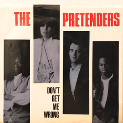 THE PRETENDERS:DON'T GET ME WRONG(JACKET A)