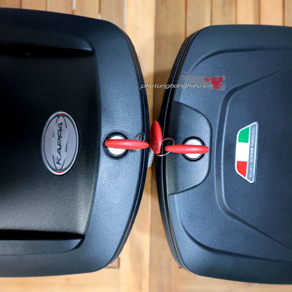 phutunghanghieu.vn, thùng giữa ch xe máy, thùng Givi, thùng giữa Givi K10N, thùng giữa Givi G10N