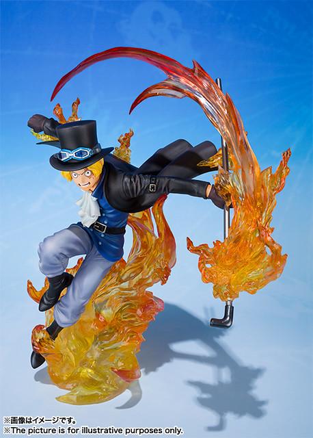 Figuarts ZERO 超激戰-EXTRA BATTLE-《航海王》 繼承燒燒果實「火拳」能力的 薩波!フィギュアーツZERO 超激戦EXTRA BATTLE サボ -火拳-