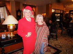 A Visit With My Sweet Friend Ruth At The Pfister Hotel