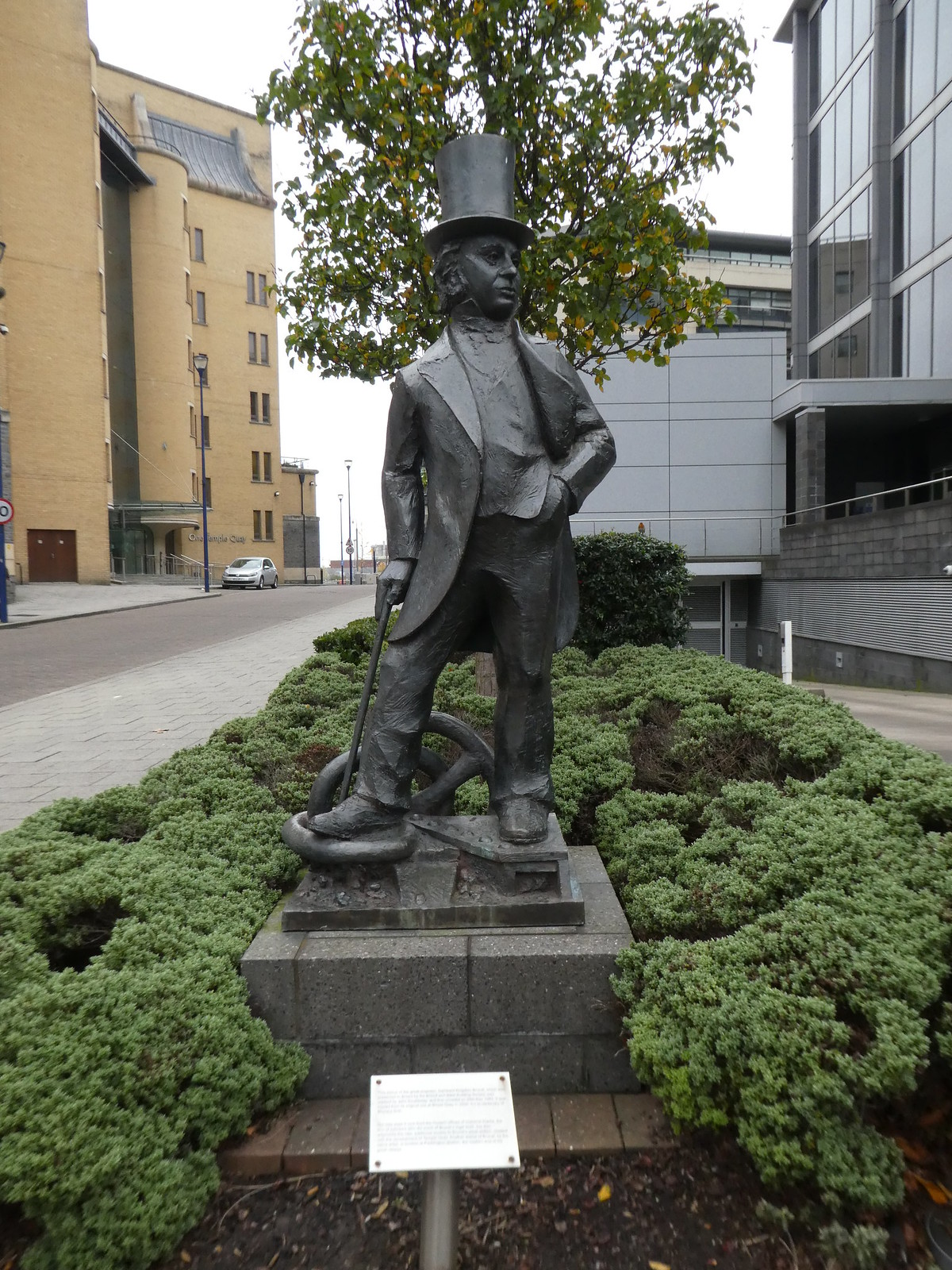 Statue of Isambard Kingdom Brunel, Bristol
