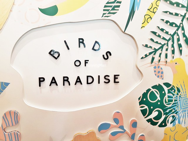 Birds Of Paradise Gelato Boutique Signage
