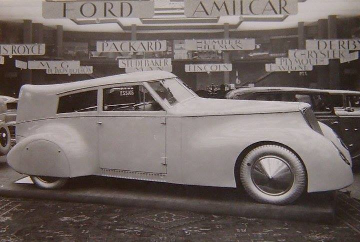 1933 Chenard & Walcker Mistral