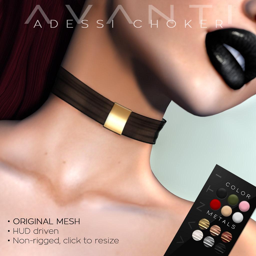 Avanti @ Suicide Dollz: Adessi Choker