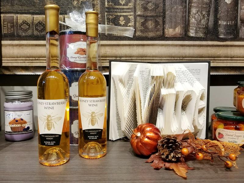 honey-strawberry-wine-the-lakehouse-inn-winery