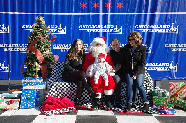 Santa Claus in Victory Lane 2017
