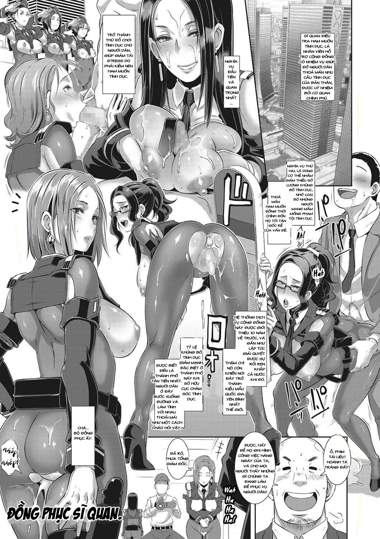 HentaiVN.net - Ảnh 5 - Cục Sĩ quan Điều tra Tình Dục S.D.P.O - Sexual Desire Processing Officers - Oneshot