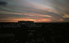 Sunset looking toward Brooklyn