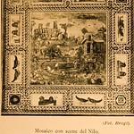 1909 Foto Brogi, Mosaico con scene del Nilo, dall'Aventino - https://www.flickr.com/people/35155107@N08/