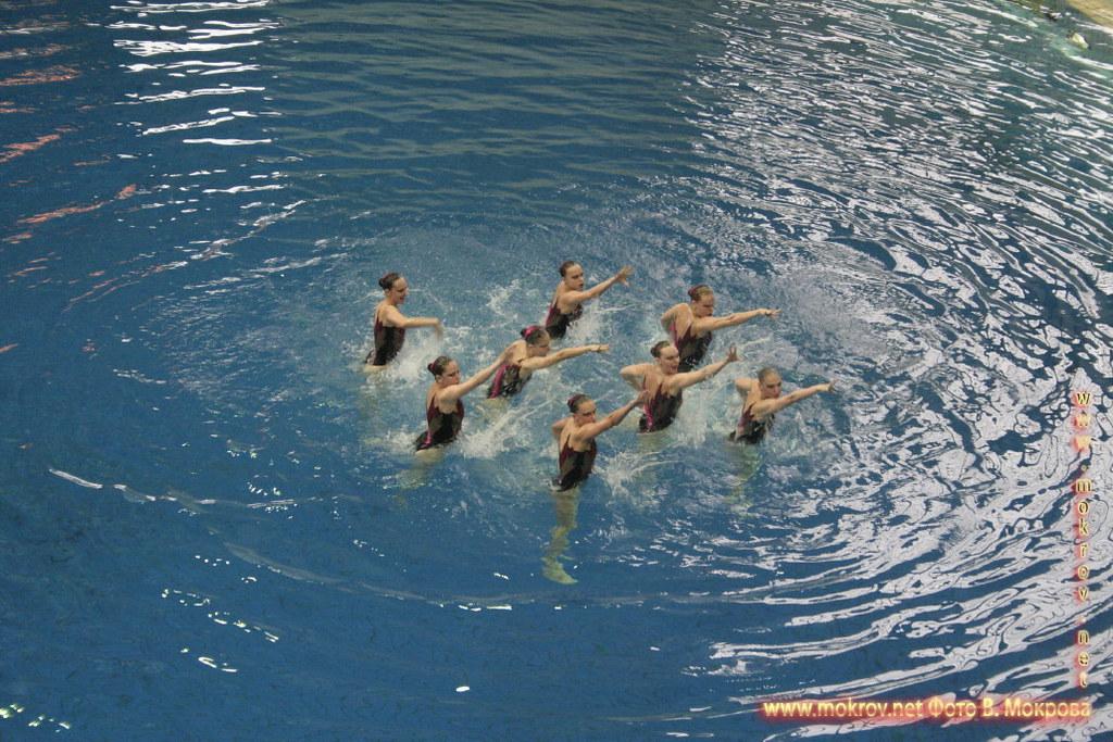 Сборная команда России по синхронному плаванию и фото