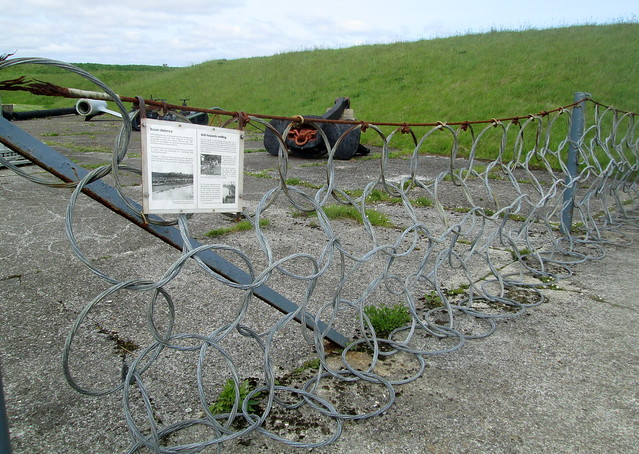 Anti-Torpedo Netting, Lyness Naval Museum, Hoy, Orkney