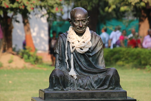 Visit to the Mahatma Gandhi Ashram at Sabarmati, Ahmedabad, Gujarat, India (November 19, 2017)
