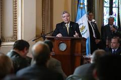 OTORGAN ORDEN VICEPRESIDENCIAL A CICLISTAS GANADORES DE LA 57 VUELTA A GUATEMALA.