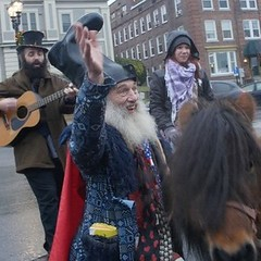 Singing songs for the ponies with #VerminSupreme