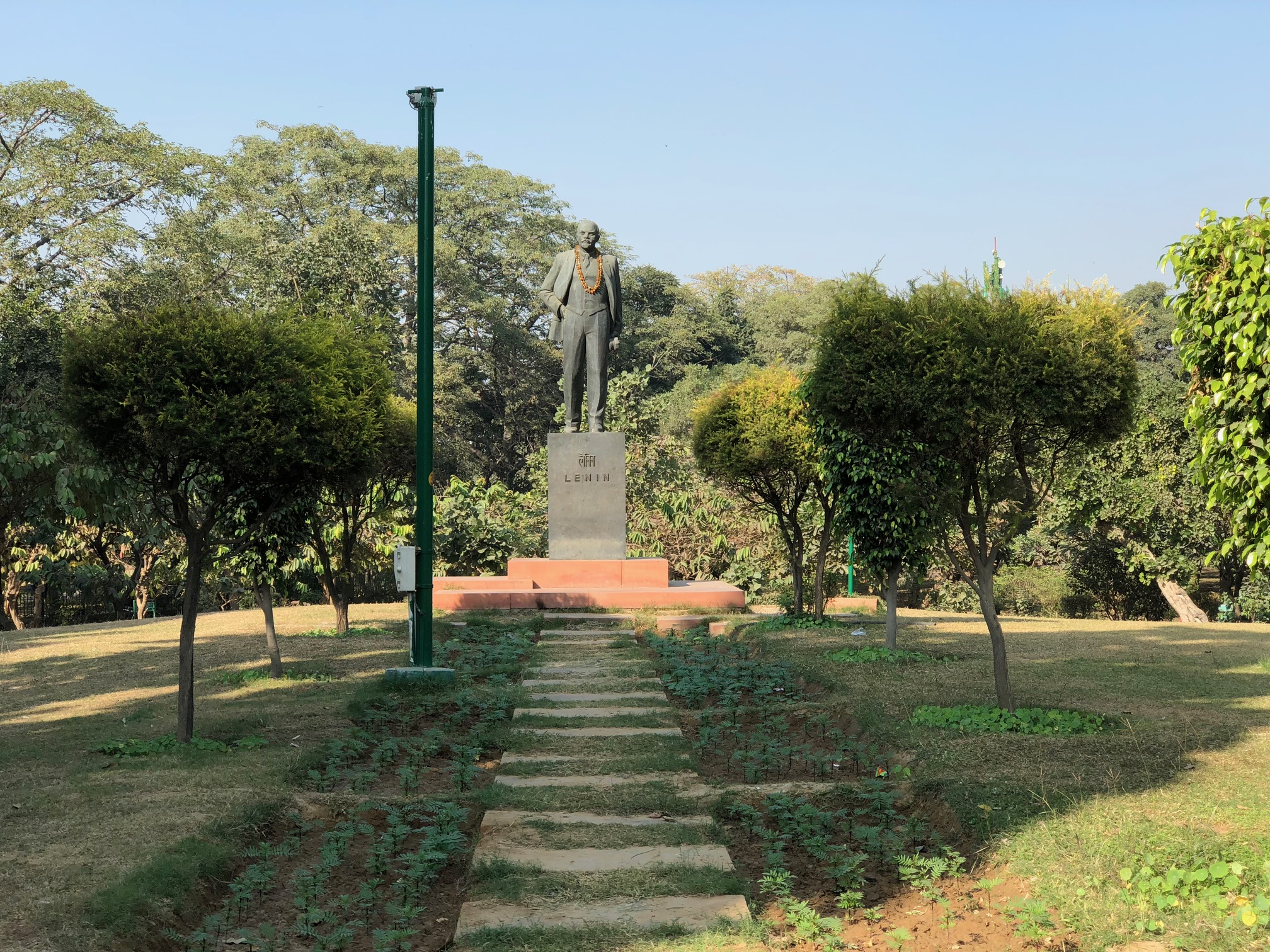 City Landmark - Lenin's Tomb, Nehru Park