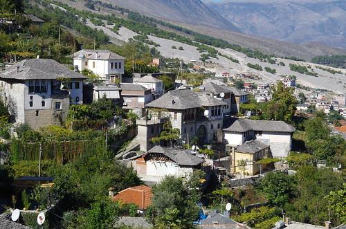 Town to Gjirokastër