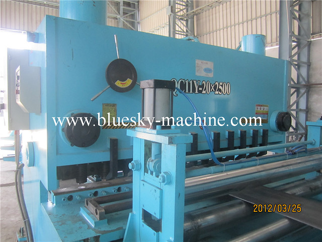stainless steel cut to length line