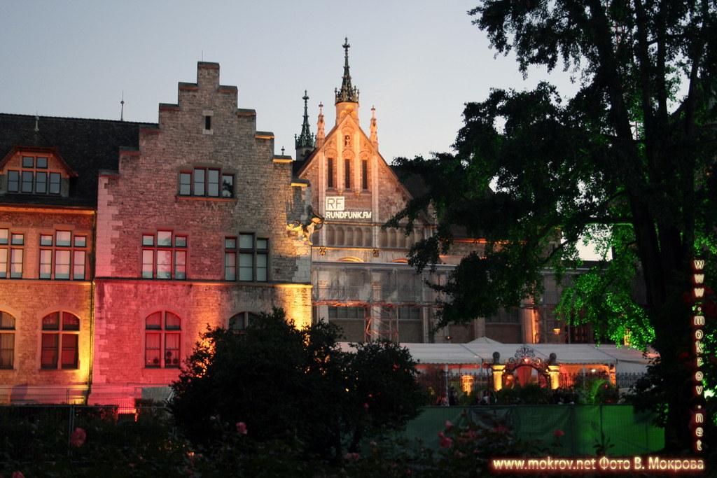 Исторический центр города Цюриха В этом альбоме фотоработы
