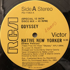 ODYSSEY:NATIVE NEW YORKER(LABEL SIDE-A)