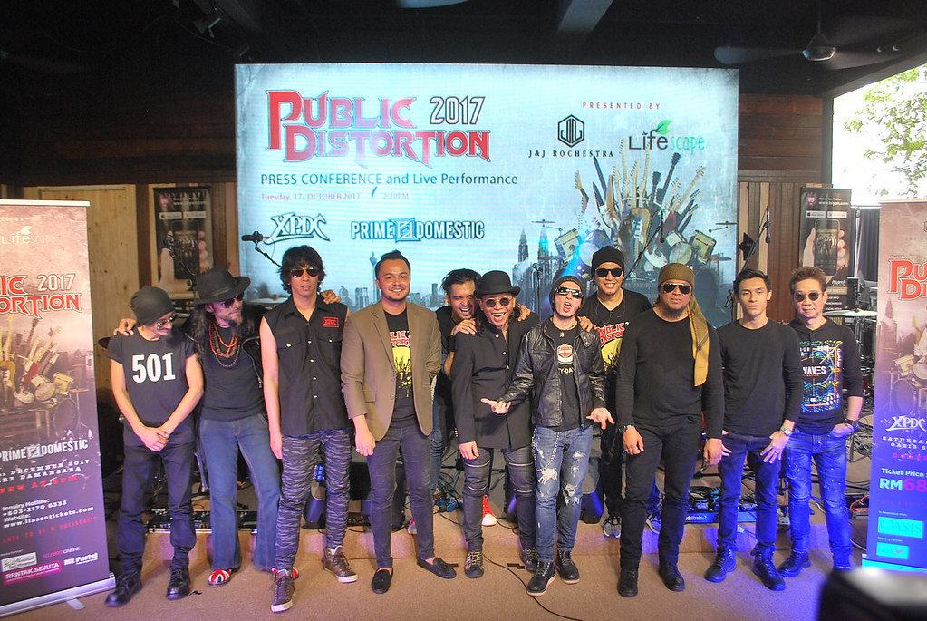 Konsert Public Distortion 2017