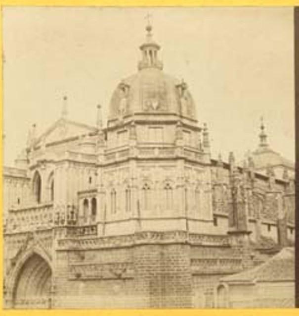 Catedral vista por Louis Léon Masson hacia 1858