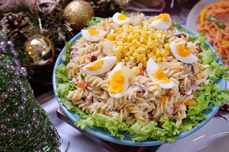 Fusilli Salad with Jolly Cow Condensada