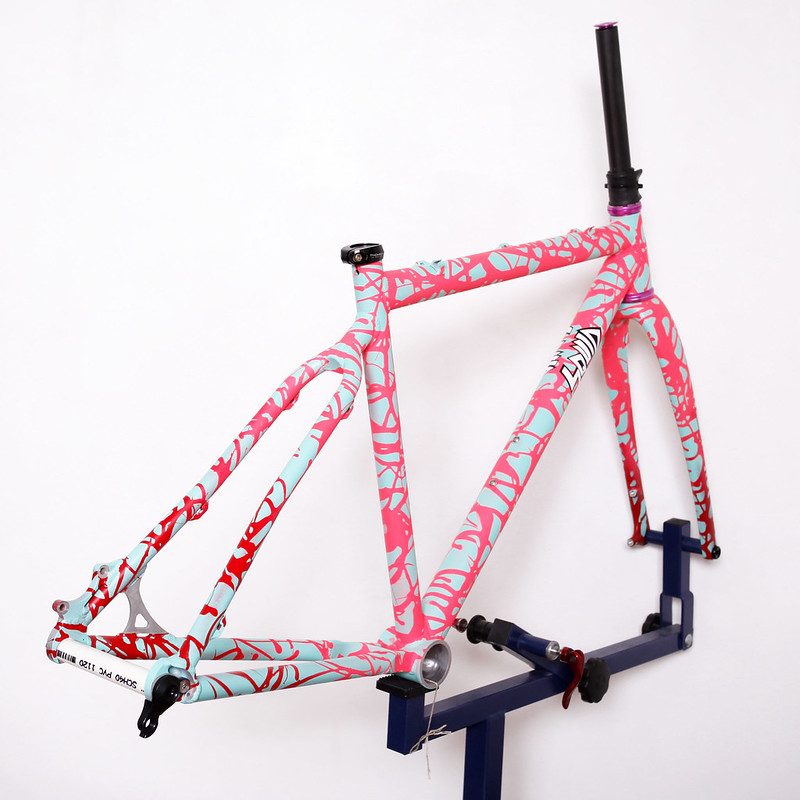 Squid Bikes / $QUIDCROSS!!! / Cyclocross Frame / Painted by Squid Bikes