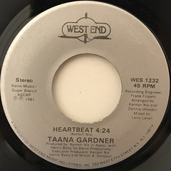 TAANA GARDNER:HEARTBEAT(LABEL SIDE-B)