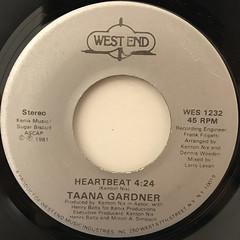 TAANA GARDNER:HEARTBEAT(LABEL SIDE-B)