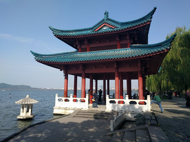 pagoda on West Lake