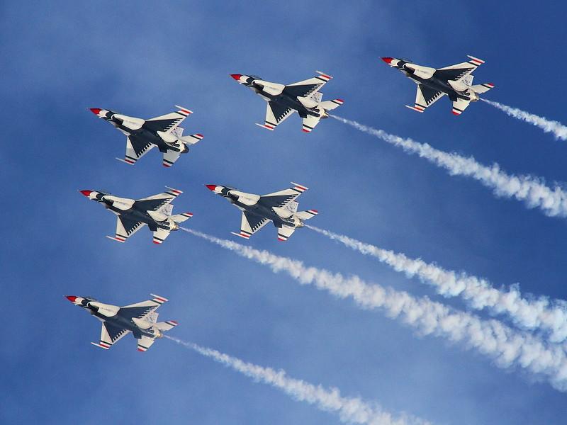 IMG_7037 Thunderbirds Delta Formation, Nellis AFB