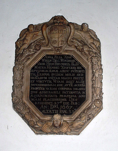 Anna Brunsell nee Wren 1667