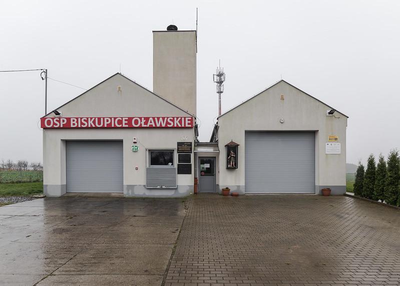 Firestation, Biskupice Oławskie, Poland, 22.11.2017