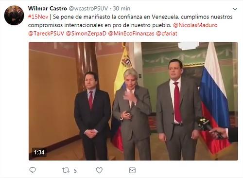 Régimen de Maduro firma acuerdo para reestructurar su deuda con Rusia