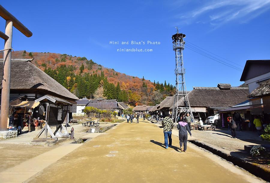 日本福島景點大內宿合掌村24