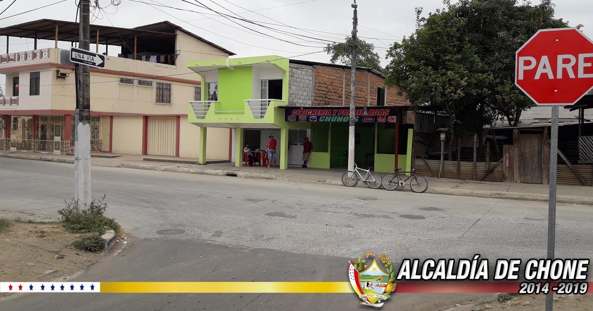 Callejón Oriente cambió a ser vía Unidireccional