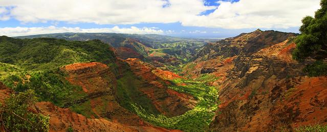 Waimea Canyon Pano