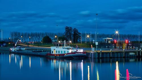 Blue Hour Middelharnis Harbor